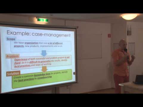 Yury Kupriyanov - Using Semantic MediaWiki in enterprise knowledge management and case analysis