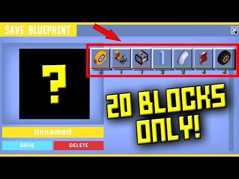 20 BLOCK ONLY RACE!  Scrap Mechanic Multiplayer Monday! Ep 68