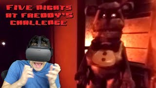FNAF IN VIRTUAL REALITY! - Five Nights at Freddy