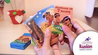 Puzzle Cartas Originales 1965 Vintage Familias De 7 Países Cartas De Paises Youtube