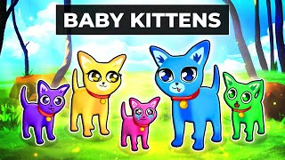 Playing as a BABY KITTEN in Roblox!