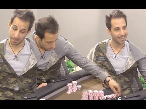 Alec Torelli puts on a Clinic, Runs it up to $50,000!! ♠ Live at the Bike!