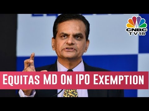 Equitas MD Speaks On RBI Denying IPO Exemption To Small Fin Banks | Bazaar Corporate Radar