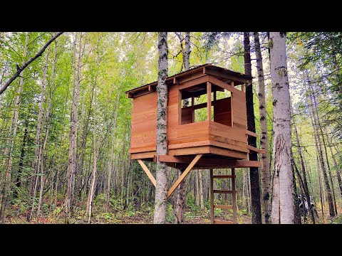 Build a Modern Kids Treehouse