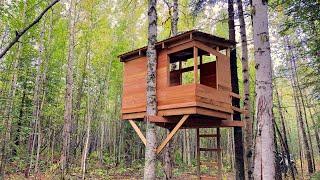 Build a Modern Kids Treehouse