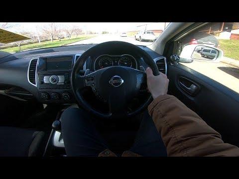 2007 Nissan Wingroad Rider Autech POV Test Drive