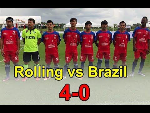 Rolling FC 4 vs 0  Brazil Winner Cambodia