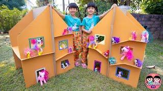 หนูยิ้มหนูแย้ม   สร้างบ้านกระดาษให้ม้าโพนี่