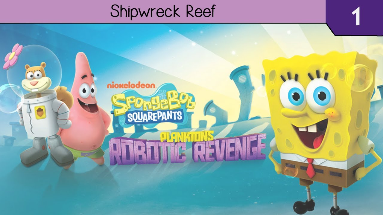 SpongeBob SquarePants Planktons Robotic Revenge - Download Game