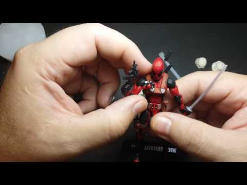 Resin casts for custom action figures accessories