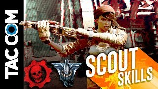 Gears 4 Horde Guides: Scout Skill Cards