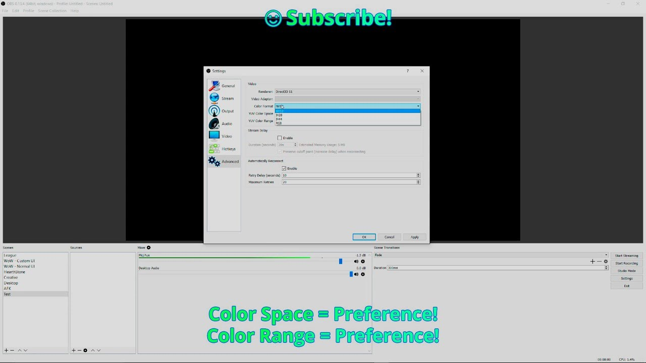 What Is Keyframe Interval Obs - Identical Nylon-5475