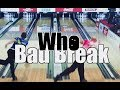 Bad Break Bowling Game - Tommy Jones Nice Shot !! EJ Tackett Bad Break !!!
