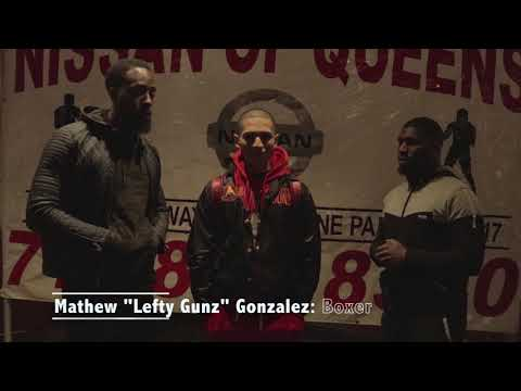 The Real Deal Holyfield Boxing weigh-in (Mathew Lefty Gunz & Justin Biggs)