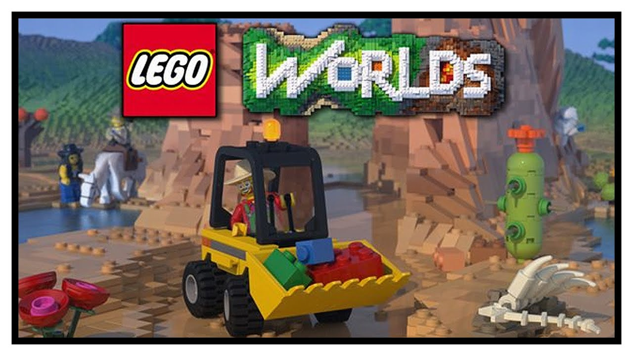 NEW LEGO MINECRAFT GAME Lego Worlds Gameplay YouTube - Minecraft spielen lego