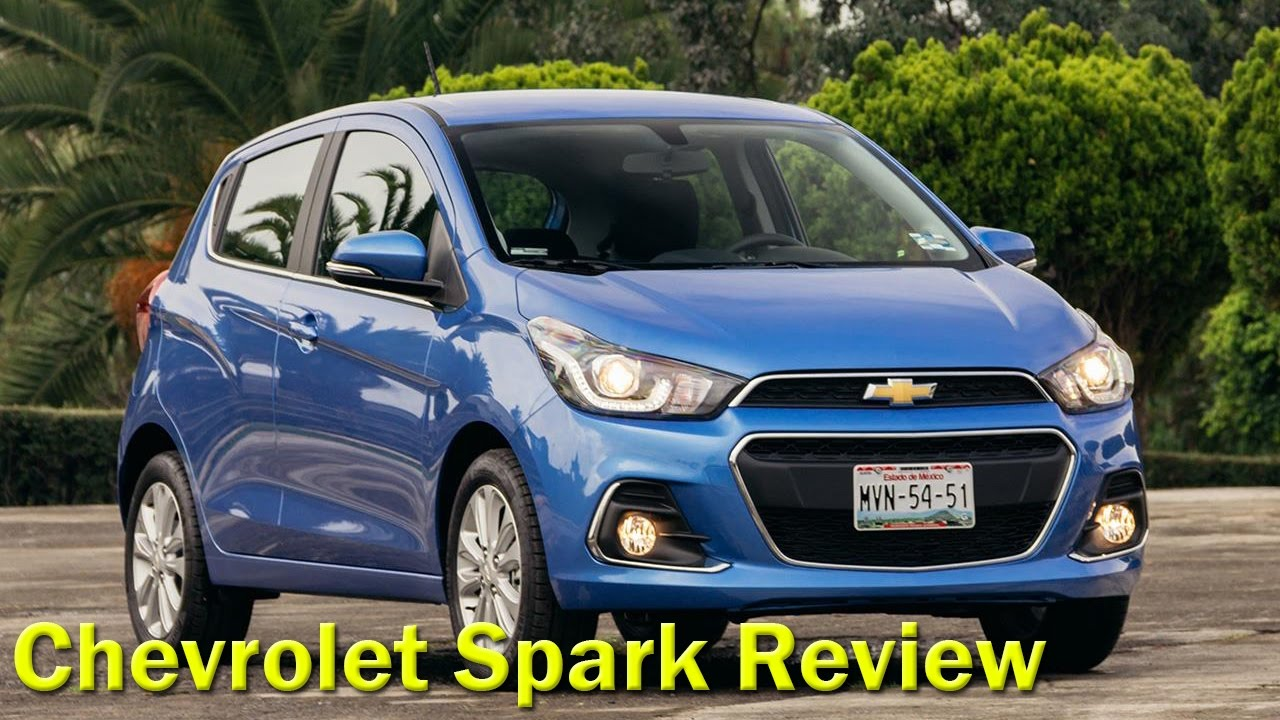 2017 Chevrolet Spark Automatic Lt Review