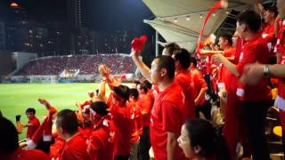 Hong Kong fans delighted after a brave 0-0 draw against Chinese national team