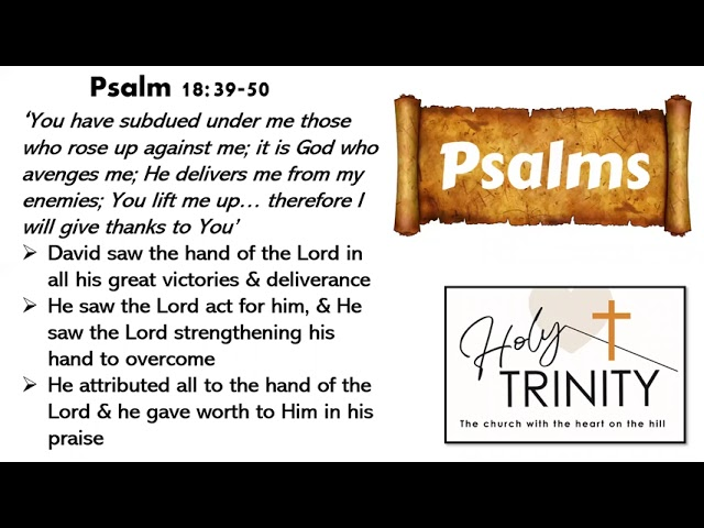 Bible Study on the Book of Psalms: Songs of the Heart: Session 4
