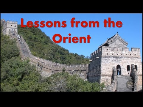 Lessons From the Orient - China