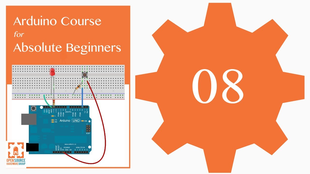 Tutorial 08: analogRead() and the Serial Port: Arduino Course for Absolute  Beginners (ReM)