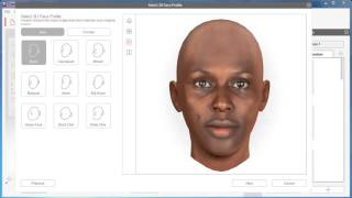 crazyTalk 8 Tutorial - One Image 3D Face Fitting