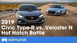 Honda Civic Type R vs. Hyundai Veloster N ― 2019 Hot Hatchback Battle