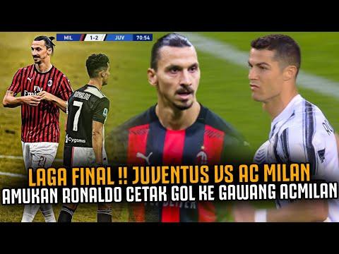 AMUKAN RONALDO CETAK GOL KE GAWANG AC MILAN ‼️ Laga Final Harga Diri Juventus Vs Ac Milan