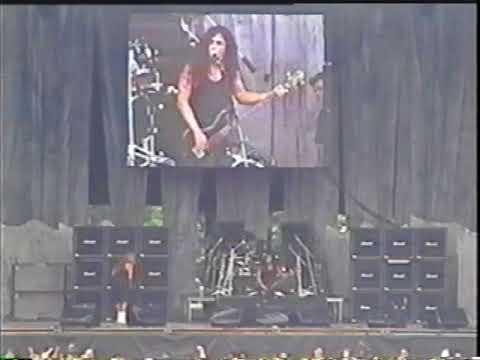 Slayer (live) - Milton Keynes National Bowl, Milton Keynes, England (June 20, 1998)