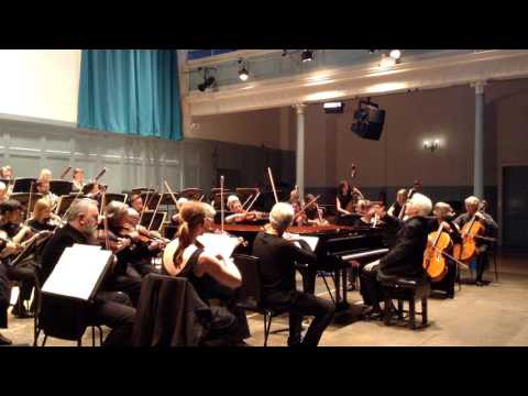 Mozart Piano Concerto No 23  soloist Peter Evans The Meadows Chamber Orchestra