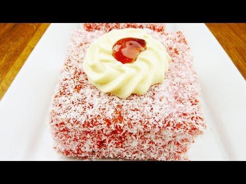 Episode 99 | Mauritian Red Lamington Cake | Gateau Jam Francis | Gato Carré rouge