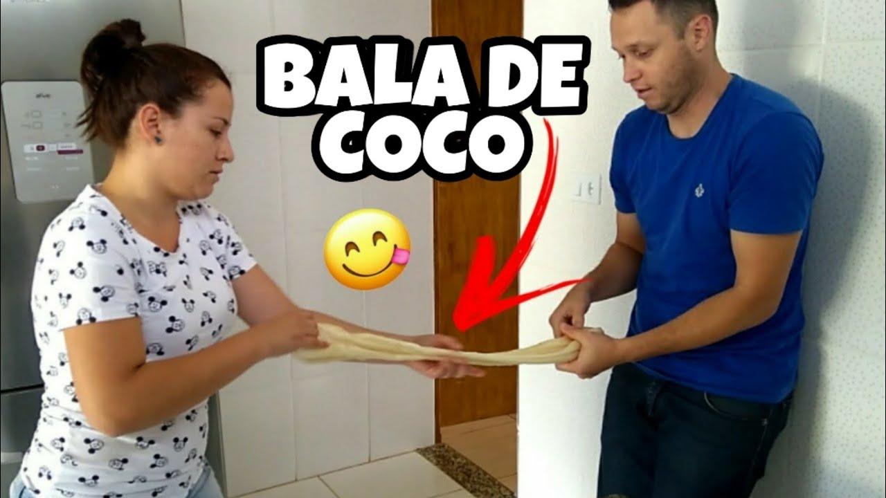 #DIA14   BALA DE COCO QUE DERRETE NA BOCA! SEM SEGREDO