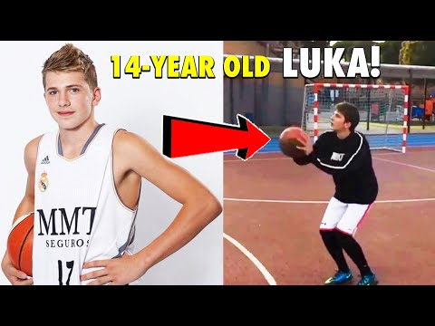 14-Year Old Luka Doncic in Real Madrid, Spain Back in 2013! |