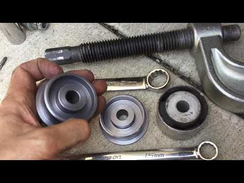 DIY 996 997 Porsche 911 Meyle vs OEM Rear Thrust Arm Replacement and RSS Bushing Install