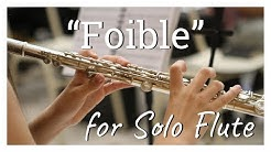 Foible - Pitch Class Set Composition for Solo Flute