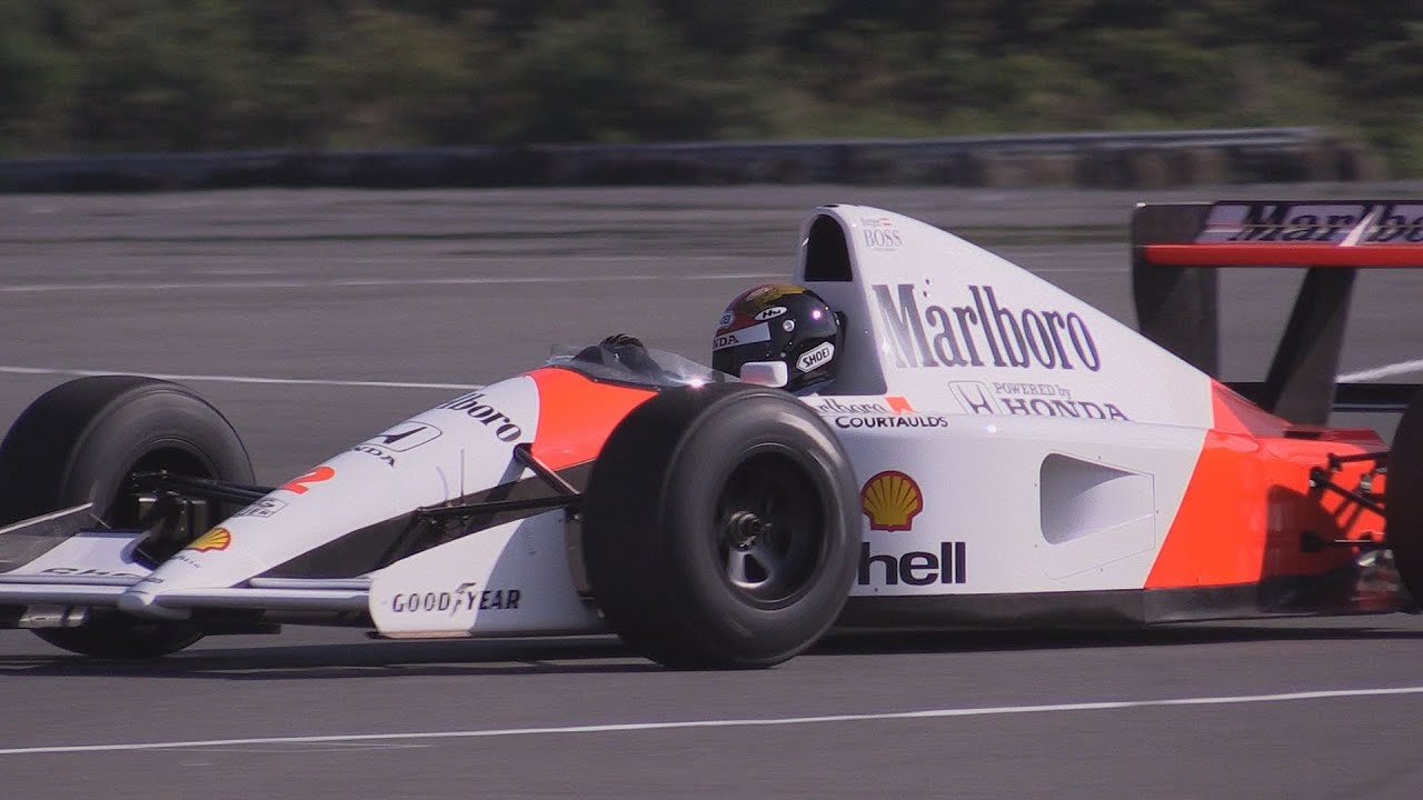 mclaren honda mp4/6 (1991) vol.1 - 3.5l v12 engine - youtube