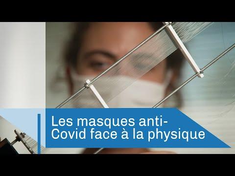 Les masques anti-Covid face à la physique
