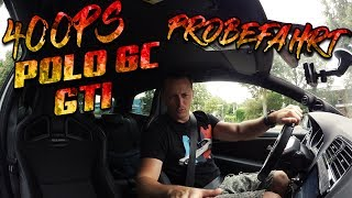 400PS Polo 6c GTI |  Zeiten Messen | SimonMotorSport |