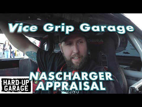 Vice grip Garage evaluates NASCHARGER at the epic Sema show fast and furious charger