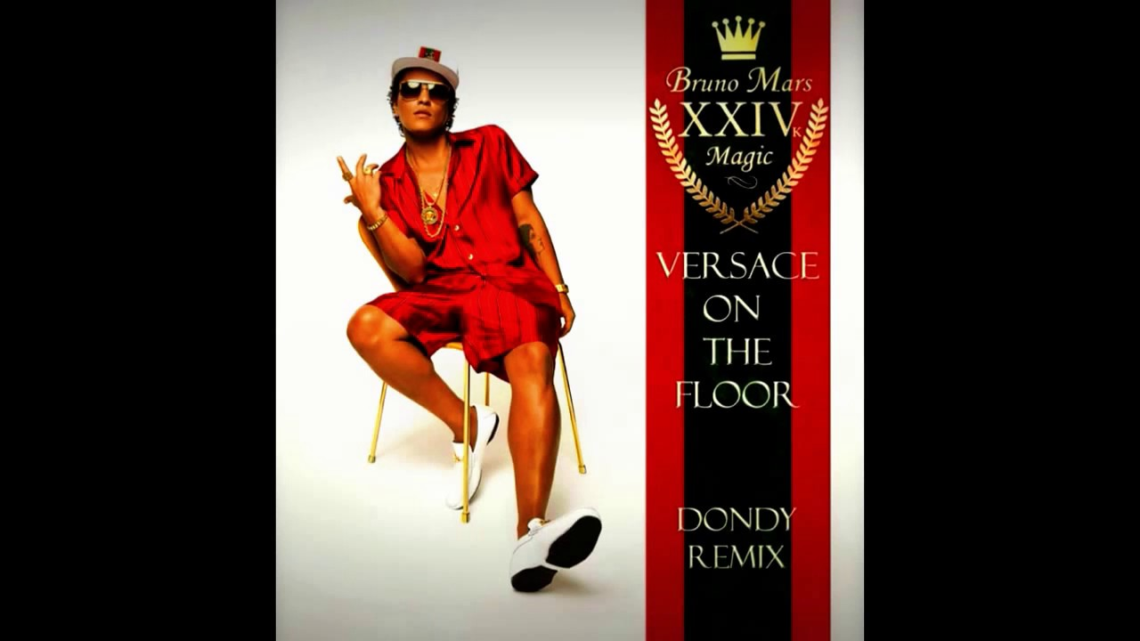 Bruno Mars Versace On The Floor Extended Mix Youtube