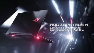 """ASUS ROG Zephyrus M GM501GS XS74 15 6"""" Ultra Slim Gaming Laptop, 144Hz IPS Type G SYNC P"""