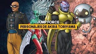 JUMP FORCE: Los cuatro personajes de Akira Toriyama