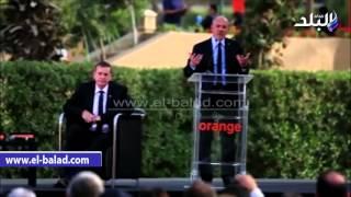 بالفيديو والصور .. رئيس مجلس إدارة شركة «أورانج العالمية»: دخولنا للسوق المصري إضافة كبيرة