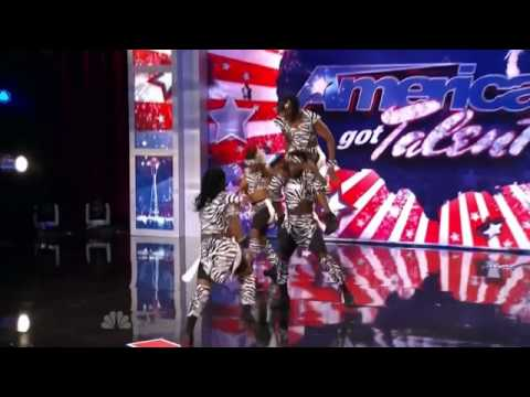 Zuma Zuma Acrobats Americas Got Talent Auditon 2011