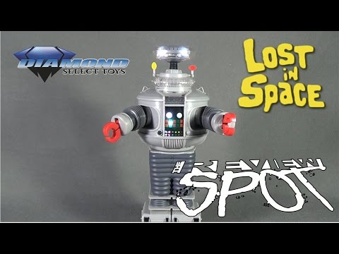 """Collectible Spot - Diamond Select Lost in Space Electronic 11"""" B-9 Robot"""