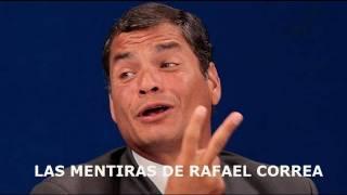 Las mentiras de Rafael Correa, por Fausto Lupera, Presidente del Parlamento Andino