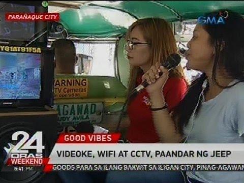 24 Oras: Videoke, wifi at CCTV, paandar ng jeep