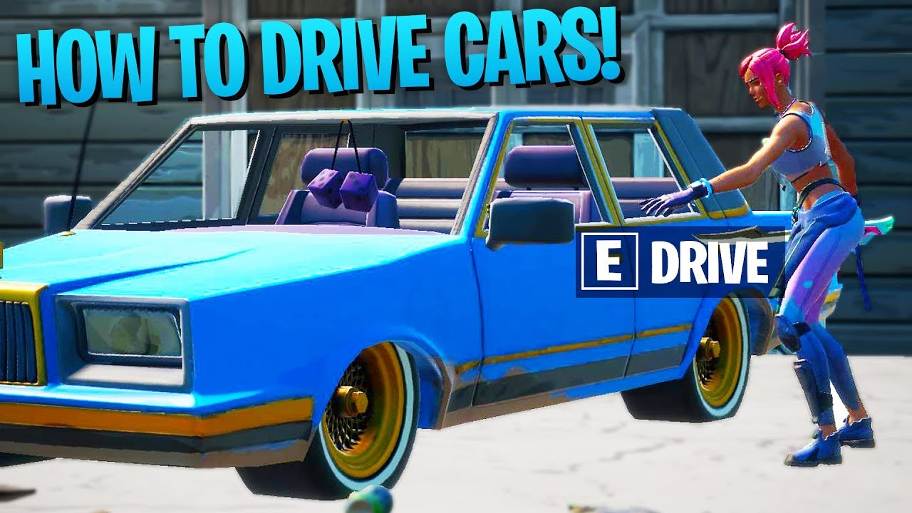 New How To Drive Cars In Fortnite Season 3 Chapter 2 Cars Aren