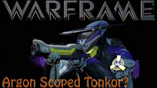 Warframe - Argon Scoped Tonkor thumbnail