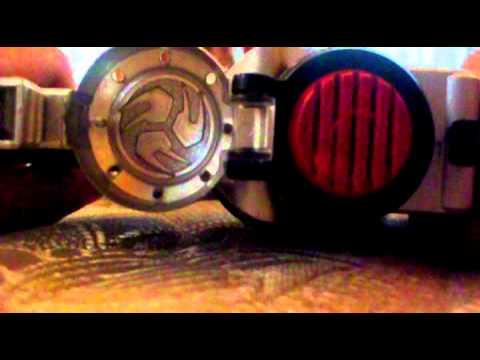 Armed Saber Review Kamen Rider Hibiki Youtube