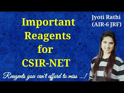 Important reagents in organic chemistry for CSIR-NET|Reagents in organic synthesis|Reagents for GATE
